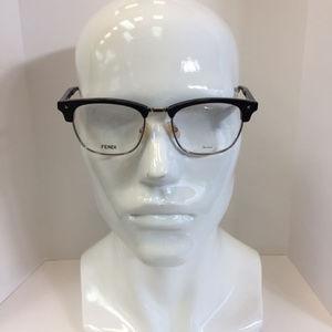 bf7c6d33c8c21 Fendi Accessories - New Fendi FF M0006 807 black Clubmaster style Eyeg